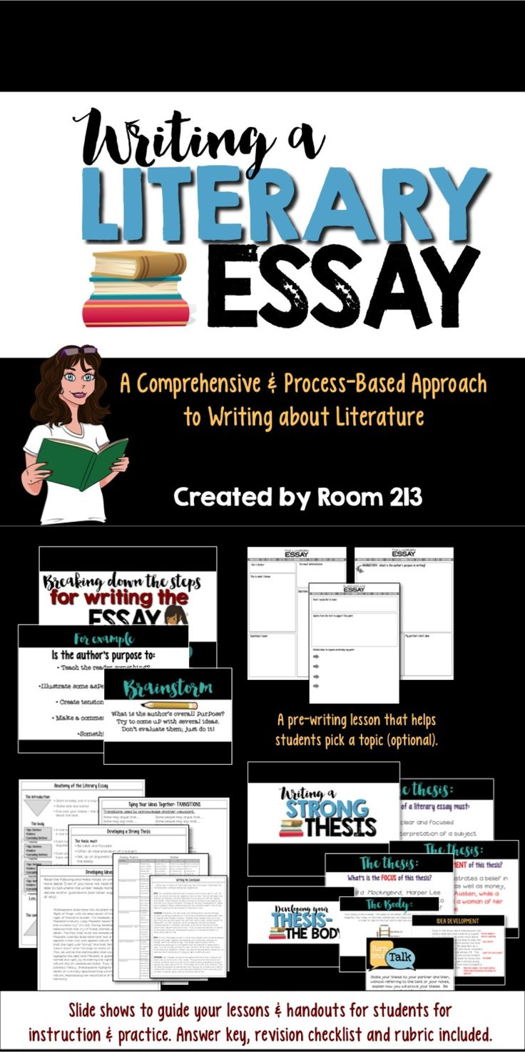 17 best ideas about literary essay essay writing writing lessons for secondary english classes the literary essay can be hard for students