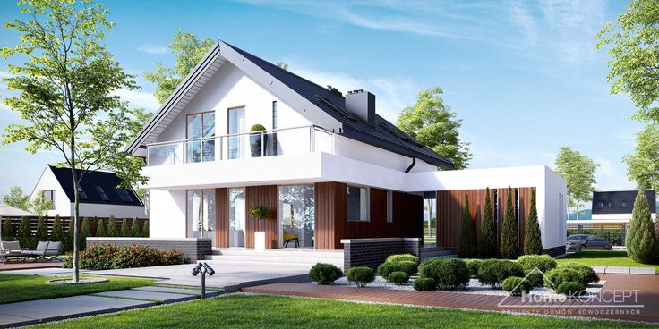 Projekt domu HmeKONCEPT 3 www.homekoncept.pl #projektdomu
