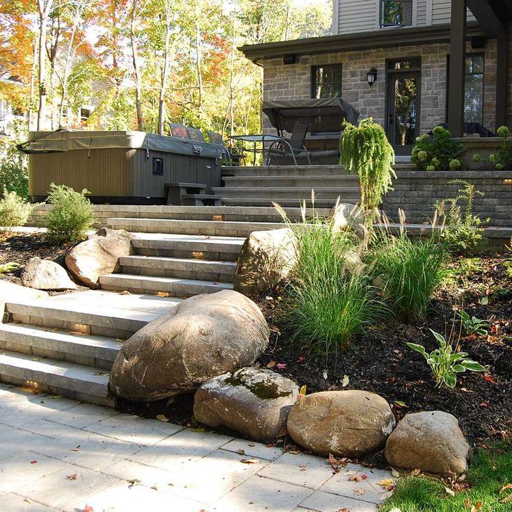Les 25 meilleures id es de la cat gorie roches d for Amenagement jardin avec pierres