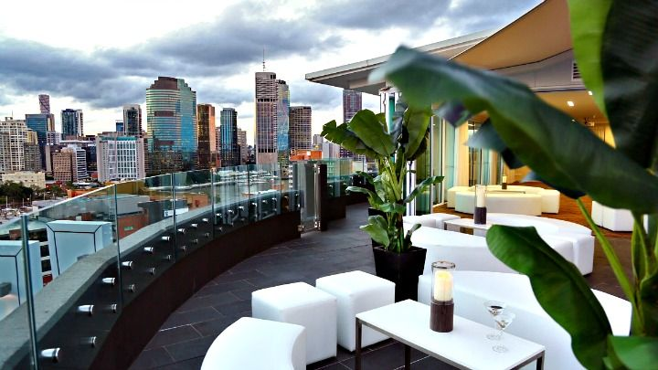 Eagles Nest roof top bar - 15 min walk from hotel