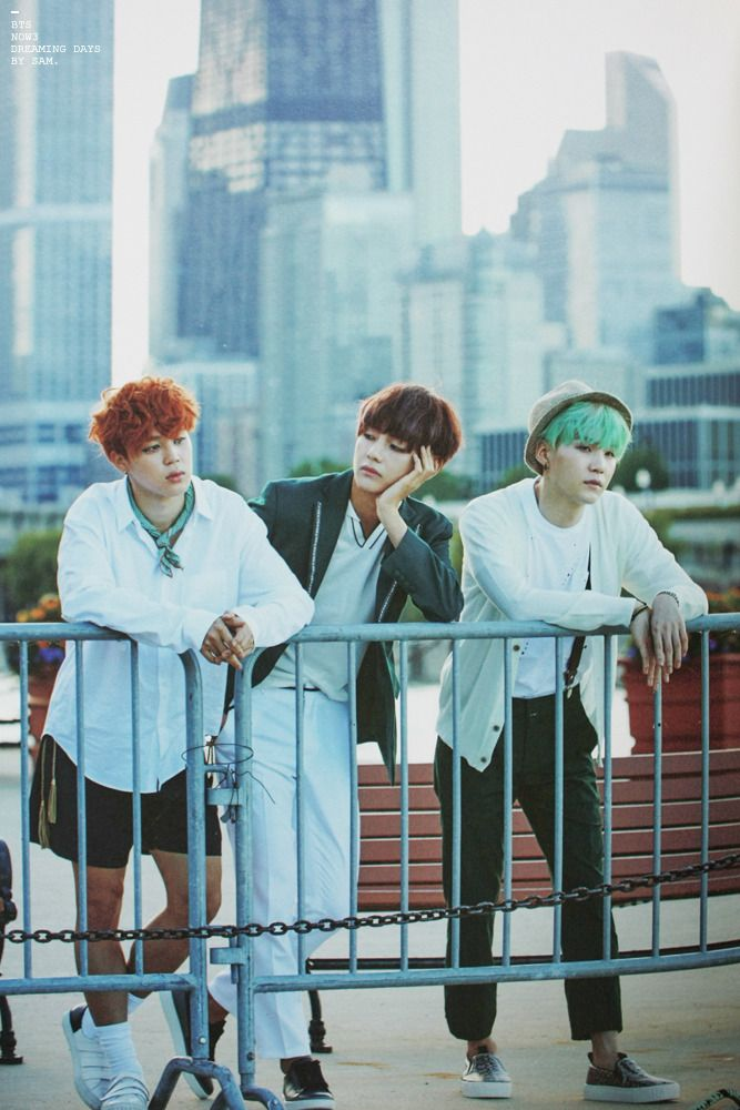 B A N G T A N | Jimin x V x Suga | my beautiful boys in a beautiful city.. my idea of heaven..  I crave major world cities as much as I crave my beautiful boys..