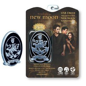 Twilight New Moon Soundtrack 2 GB USB Flash Drive