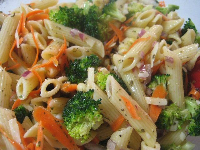 {Yummy} Recipe: Italian Pasta Salad & Pasta Salad Dressing - Don't Waste the Crumbs!