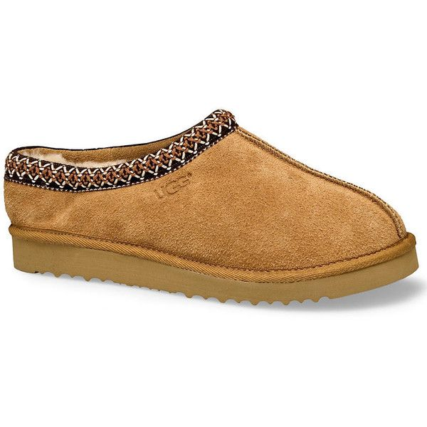UGG Men's Tasman Slippers ($100) ❤ liked on Polyvore featuring men's fashion, men's shoes, men's slippers, men, shoes, mens sheepskin shoes, ugg mens slippers, mens sheepskin slippers, mens slippers and mens shoes