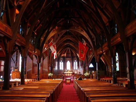 Old St Paul's, Wellington's oldest church.