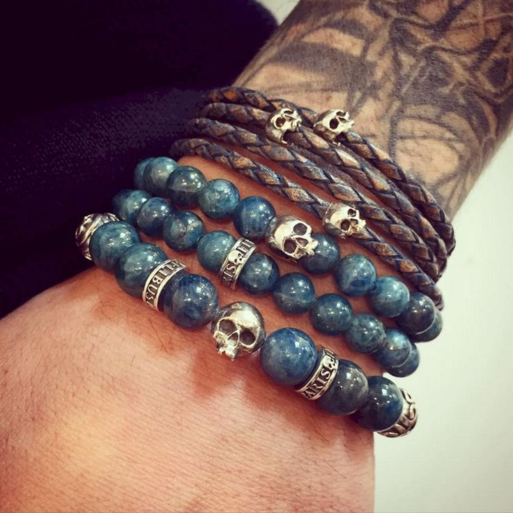 Lovely 35+ Incredible Men's Leather Bracelets Jewelry For Cool Men's https://www.tukuoke.com/35-incredible-mens-leather-bracelets-jewelry-for-cool-mens-9461