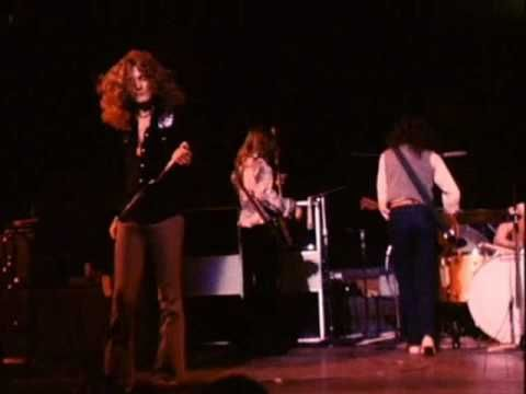 ▶ Led Zeppelin - How Many More Times Pt. 1 (LIVE RAH) - YouTube This is one of my favorite live Zeppelin cuts. I love what Robert says to the crowd. Listen at 1:20.