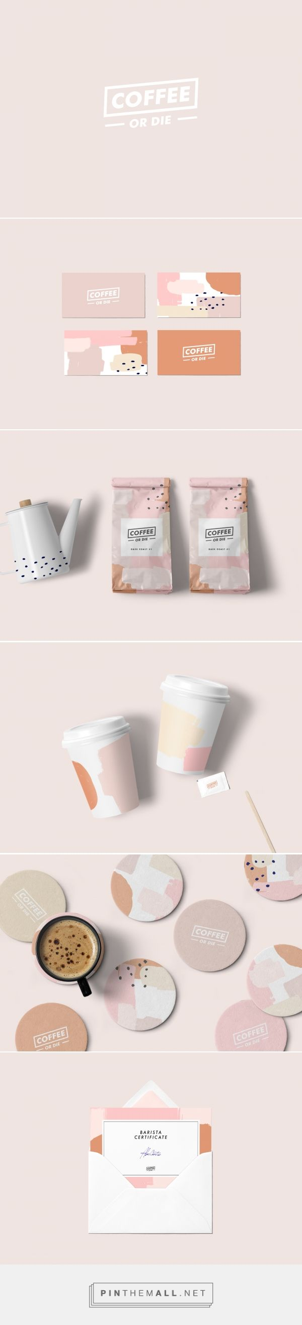Coffee or Die Branding by Fernanda Meotti | Fivestar Branding Agency – Design and Branding Agency & Curated Inspiration Gallery #coffee #branding #identity #design #designideas #designinspiration