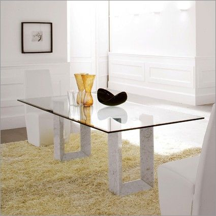 modern round glass top dining tables table and leather chairs diapason contemporary furniture set