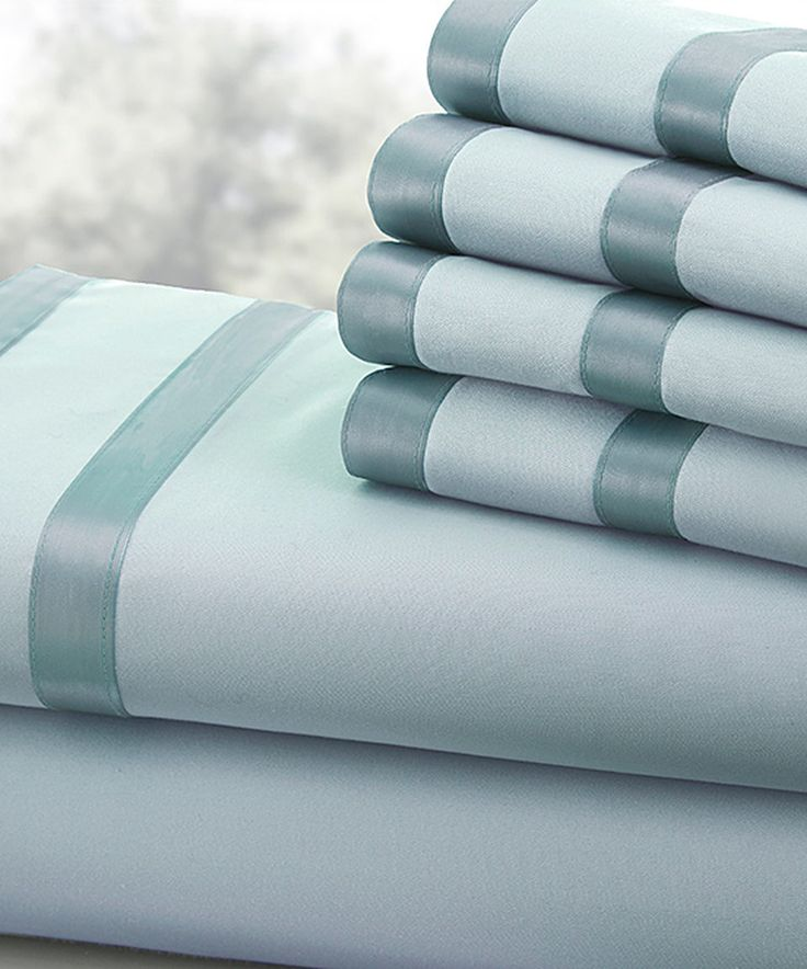 Look at this #zulilyfind! Sterling Blue 1,000-Thread Count Sheet Set by Colonial Home Textiles #zulilyfinds