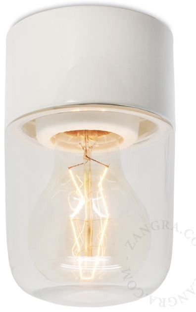 Zangra's Pure Porcelain 008-02 Hardwired Light: Remodelista