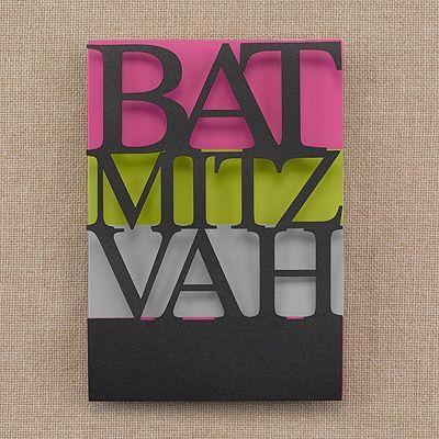 Color Bands Bat Mitzvah Invitation  |  40% OFF  |  http://mediaplus.carlsoncraft.com/Parties--Celebrations/Bar--Bat-Mitzvah-Invitations/3125-BAN32656-Color-Bands--Bat-Mitzvah--Invitation.pro?pvc=&qty=0
