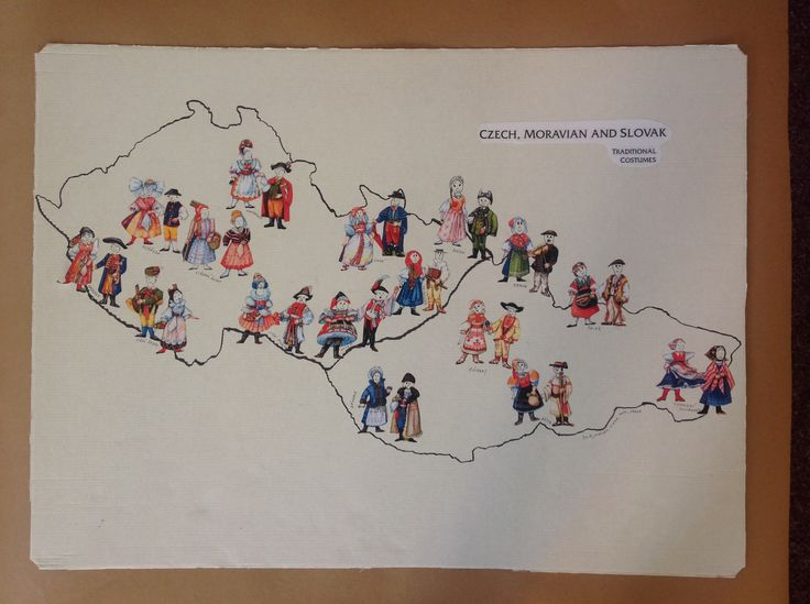 Mapa krojů