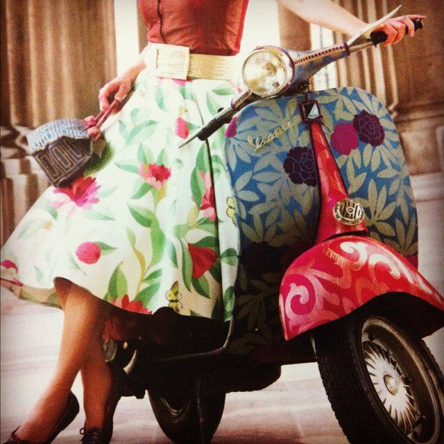 Yes, Vespas are beautiful, but also soooo dangerous (not to mention obnoxiously loud). I've seen so many accidents involving them on my travels.