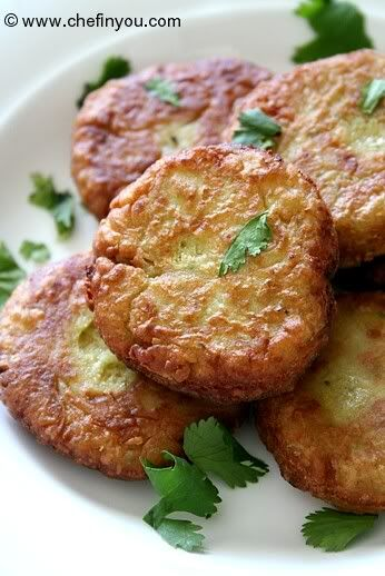 Thai styled Tempeh Cutlets (cakes) (a vegetarian option to fish cakes) recipe | Chef In You