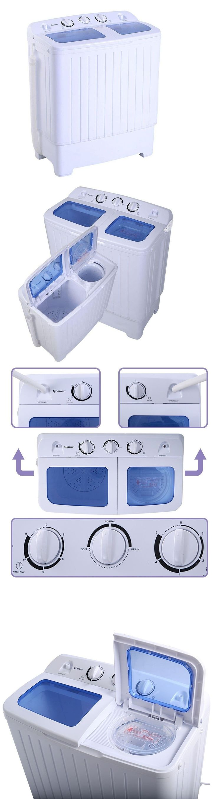 Washer and Dryer Sets 71257: Apartment Washer And Dryer Combo All In One Portable Compact Washing Machine Set -> BUY IT NOW ONLY: $137.79 on eBay!