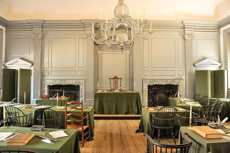 Birthplace of Democracy and our constitution, Independence Hall, Philadelphia, Pennsylvania