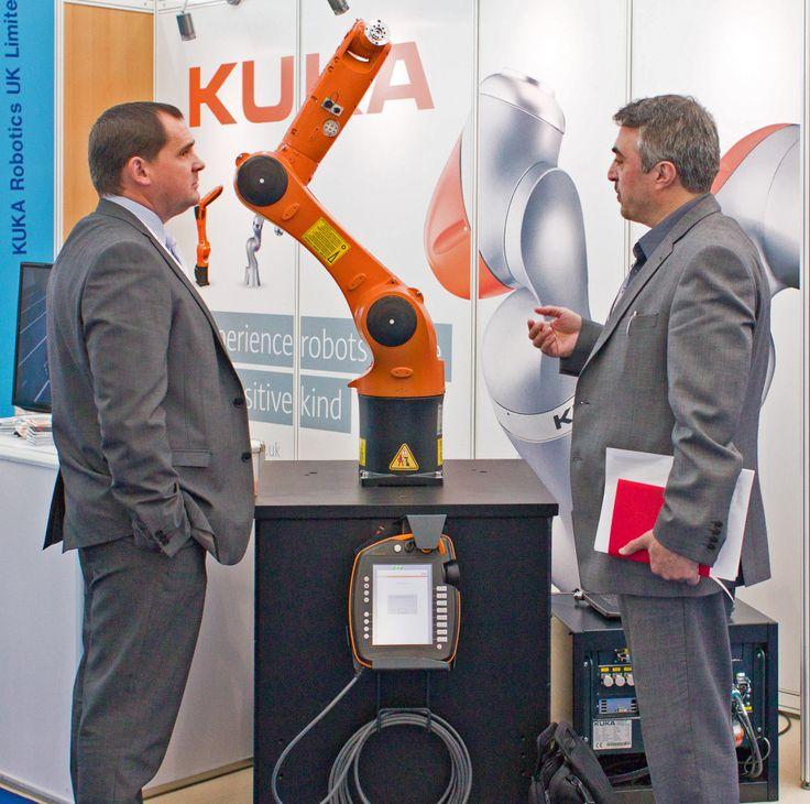 #kuka #robotics exhibiting at #medtecuk