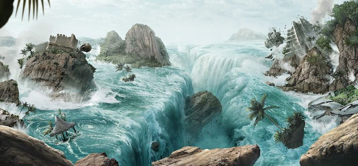 Matte Painting - The Amazing Race Latinoamérica - Space channel