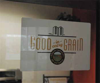 Show your pride in grains by ordering a window decal for your vehicle or farm tractor.