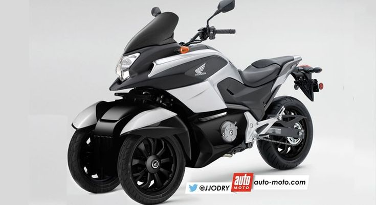 scooter honda 3 roues voici le nc 750 d3 scoop moto. Black Bedroom Furniture Sets. Home Design Ideas