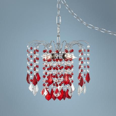 38 best chandeliers for girls room images on pinterest nicolli red crystal 12 wide 4 light mini chandelier i think this chandelier for girls roomplug aloadofball Image collections
