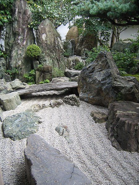 I love Japanese rock gardens..... A place to escape mentally just by entering it