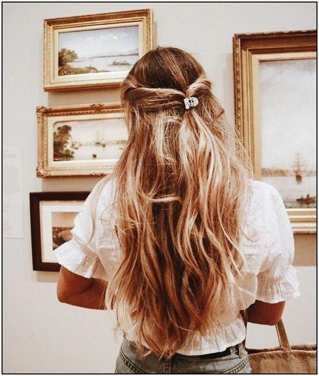 15 Cute Everyday Hairstyles 2020 Chic Daily Haircuts For Girls Cute Ponytail Hairstyles Hair Styles Cute Everyday Hairstyles