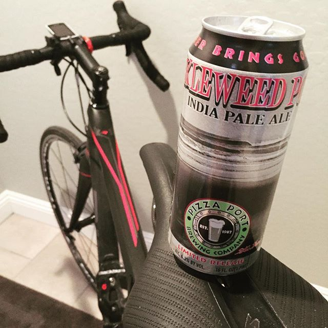 Flat tire on my ride in and 118 degrees on the ride home. Time for a beer. This is a good one. Prost! #pizzaport #pickleweedpoint #ipa #hoppytuesday #sandiegobeer #inarizona #itshot #beerme #instabeer #beerstagram #craftbeer #bikelife #ridleybikes #rideridley #fenix #postridebeer #sandiego #sandiegoconnection #sdlocals #sandiegolocals - posted by  https://www.instagram.com/sideswipe63. See more San Diego Beer at http://sdconnection.com