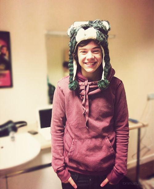 Harry Styles from the good old days... Ya know, when things were simpler.
