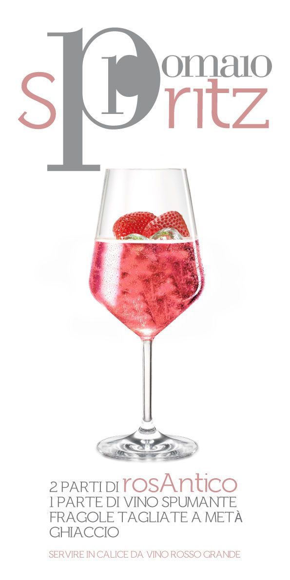 Pomaio Spritz 2 Parts RosAntiCo IGT Pomaio 1 Part Metodo Classico Ice Cubes Fresh Stawberries  and most of all...good company!