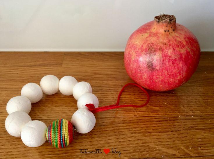Tutumutti - Gyerekkel kreatívan blog / www.tutumutti.blog.hu / Karácsonyfadísz papírgolyókból / Paper Ball Christmas Ornament / DIY and Crafts