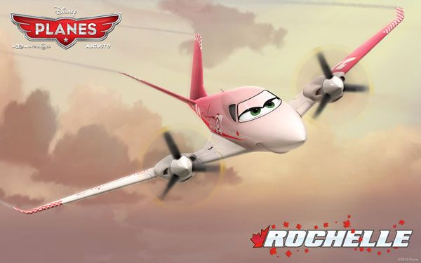 Disneys Planes Movie Wallpaper Rochelle Disney Planes 2013 Movie Wallpapers, Facebook Cover Photos & Character Icons