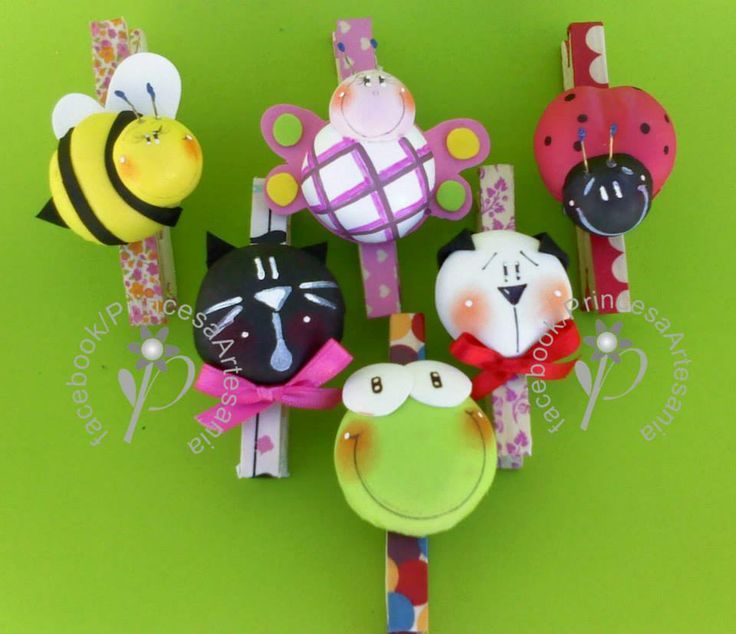 Princess Artesanias: magnets 3D Brooches