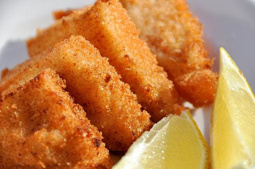 Shrimp Toast.. One of my favorite appetizers as a kid.