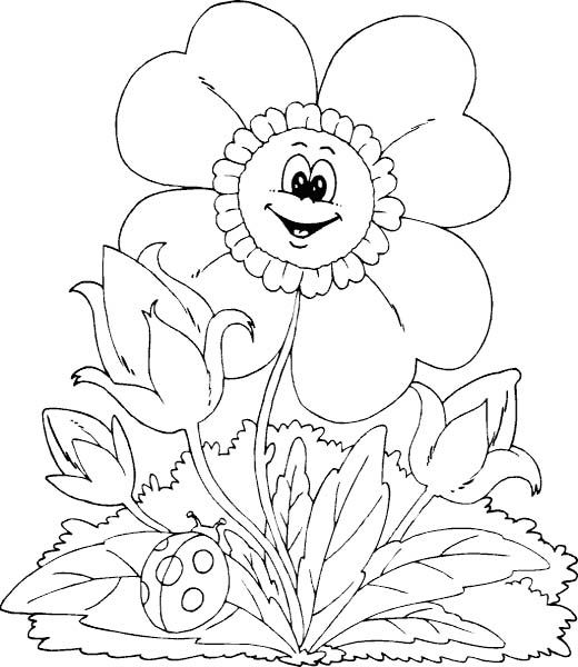 11 best Spring coloring sheets images on Pinterest | Coloring books ...