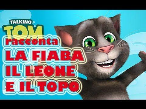 Il Leone e il Topo - Fiaba a Pupazzi animati raccontata da Talking Tom