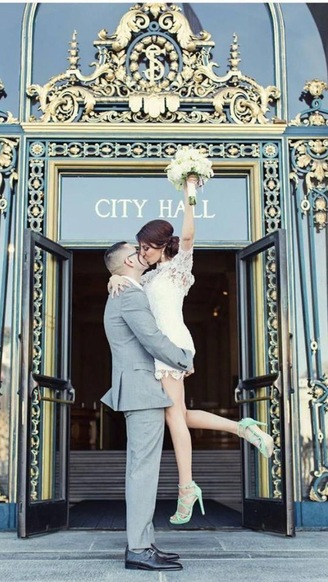 where the hell is this city hall? I have seen 4 photos of it now with 4 different couples