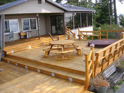 multi level outdoor deck plans the 29 best images about outdoor living on pinterest planters