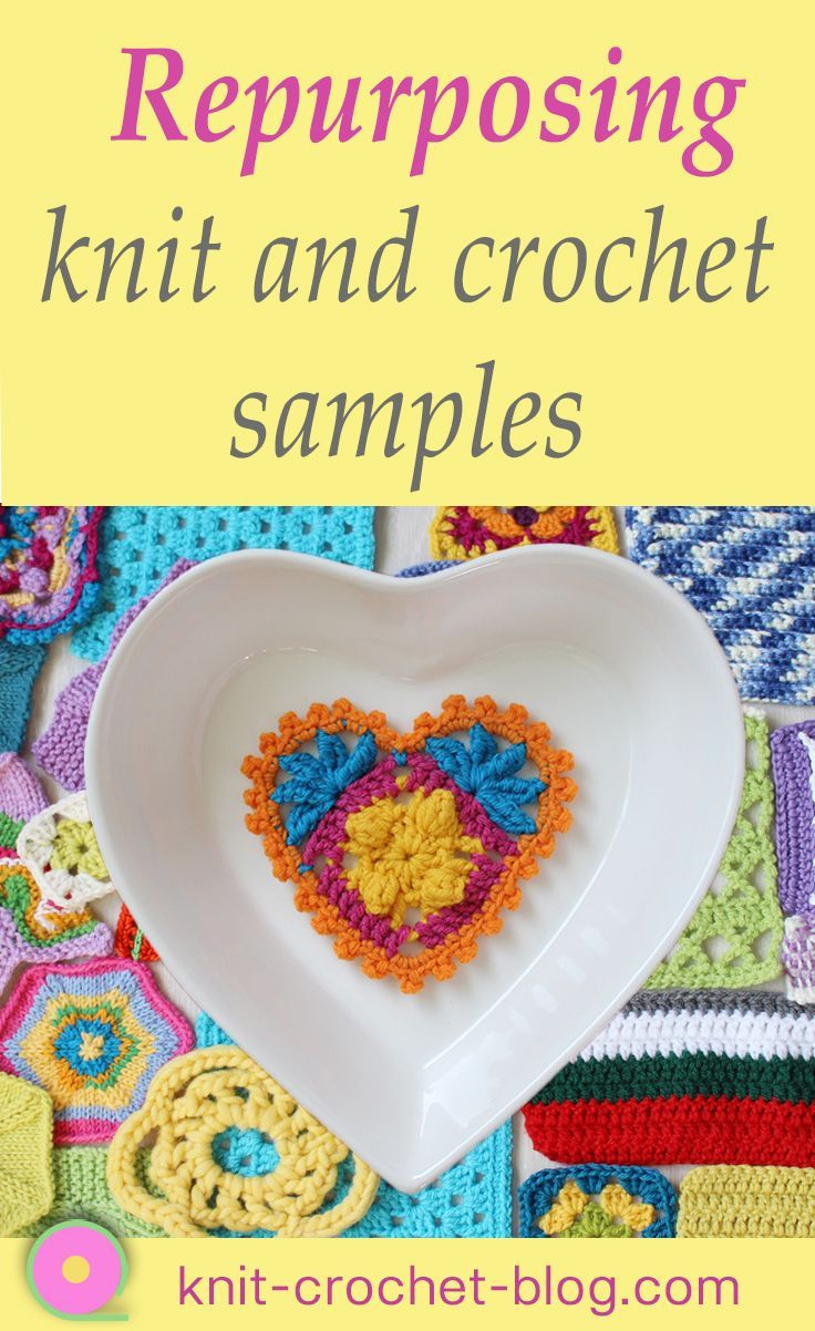 Use Up Your Many Knitted Or Crocheted Samples In The Kitchen