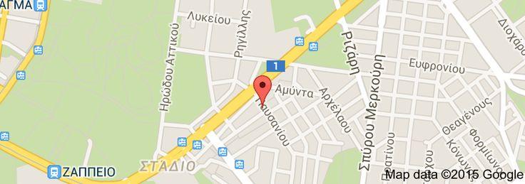Map of Karavitis Tavern Good Paidakia