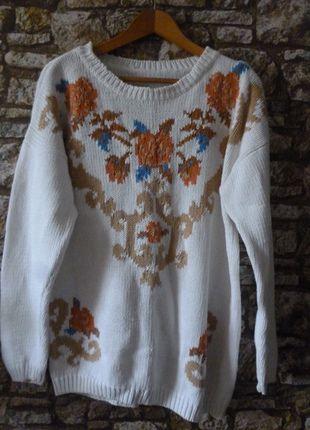 Kup mój przedmiot na #vintedpl http://www.vinted.pl/damska-odziez/dlugie-swetry/4615220-dlugi-sweter-vintage