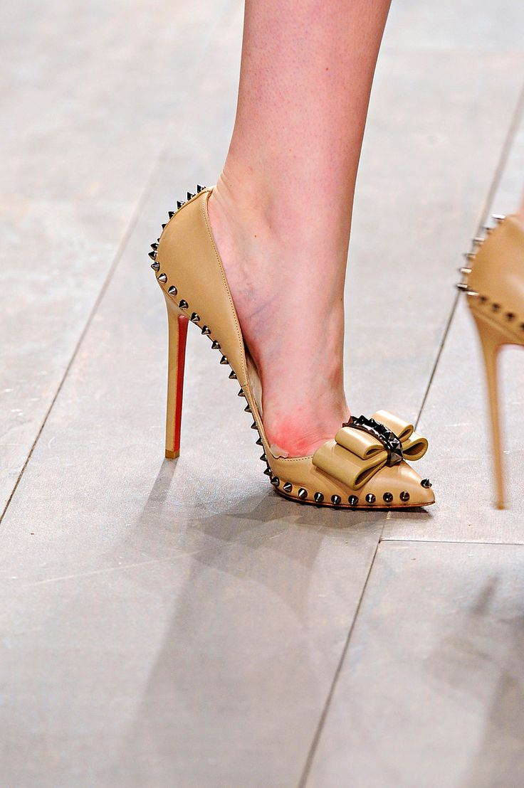 Christian Louboutin at Holly Fulton fall 2011 rtw