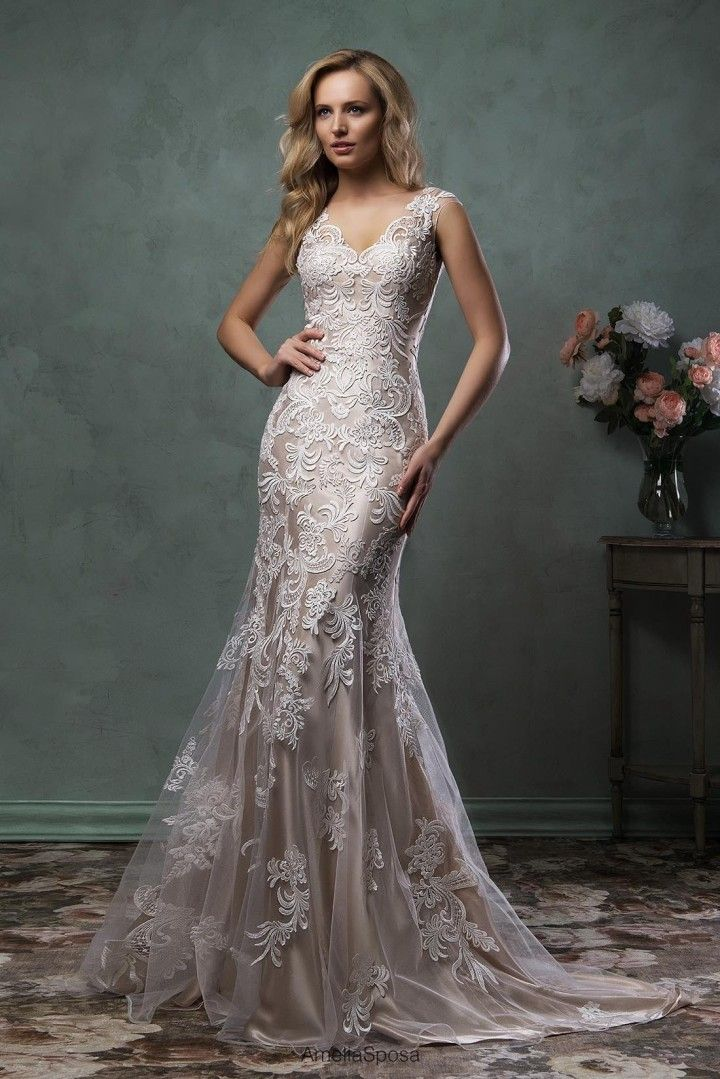 Trendy Amelia Sposa Wedding Dresses with Exquisite Detailing