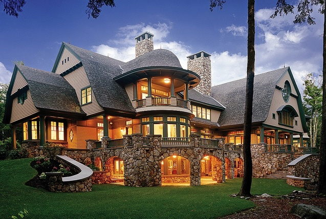 150 best architectural design ideas images on pinterest for Luxury mountain home floor plans