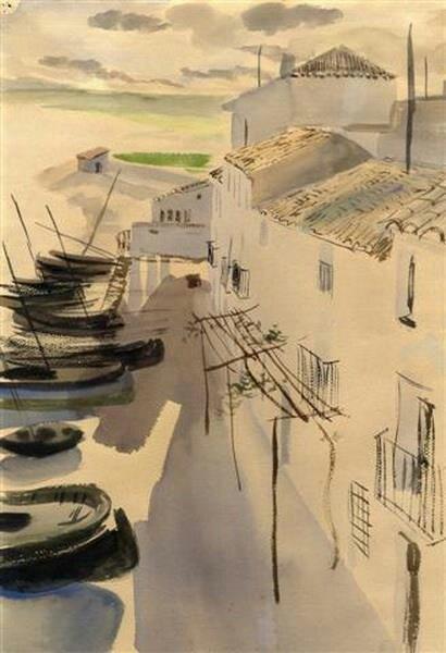 Ramón Gaya. Calle de Altea, 1929