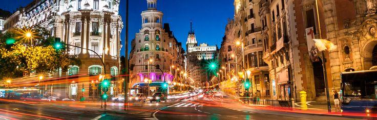 Madrid nocturno (Alcalá/Gran Vía)