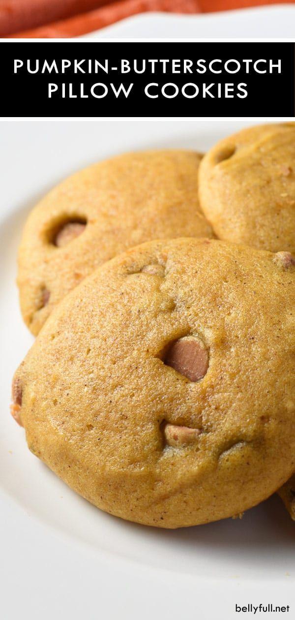 Pumpkin Butterscotch Cookies Recipe With Images Pumpkin