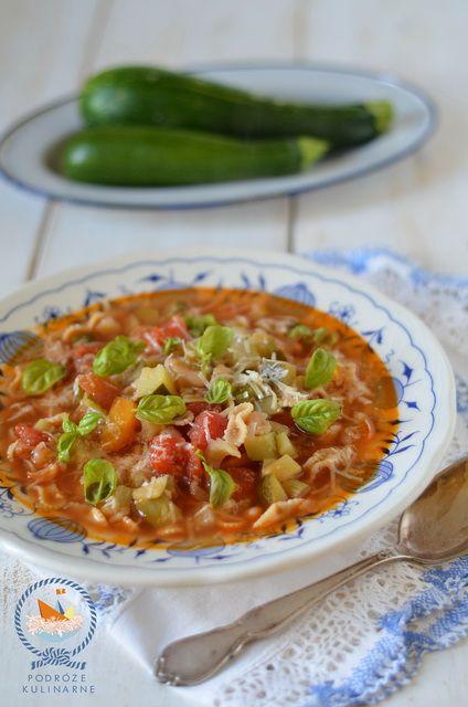 Włoska zupa warzywna, Italian vegetable soup