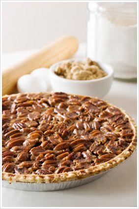 South African pecan-nut-pie
